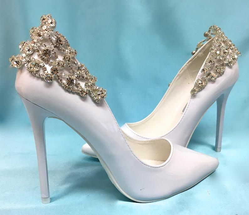 9d64fe6ec3 Bridal Shoe Clips Wedding Shoe Clips Bridal Shoe Accessory | Etsy