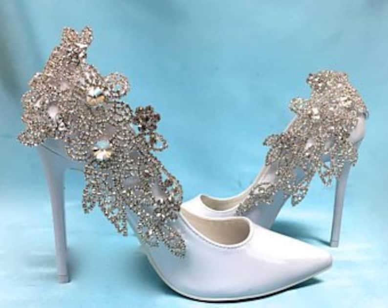 8d26a627f909 Bridal Rhinestone Shoes Wedding Rhinestone Shoes Bridal