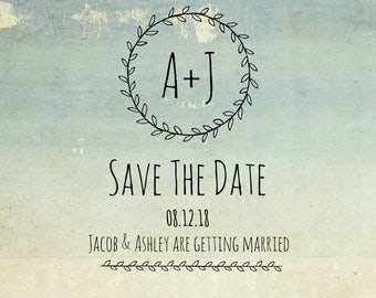 Vintage Save The Date!