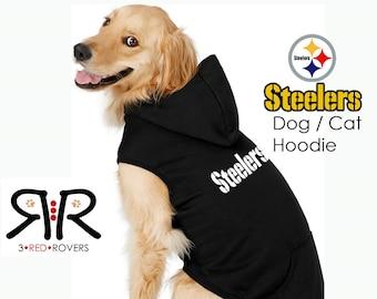 6bc7f4fb8db Pittsburgh Steelers Dog Hoodie   Sweatshirt