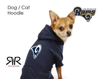 9c6f945e654 LA Rams Dog Hoodie / Sweatshirt