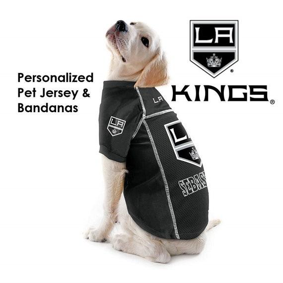 premium selection fc561 1af49 LA Kings NHL Dog Jersey - Personalized