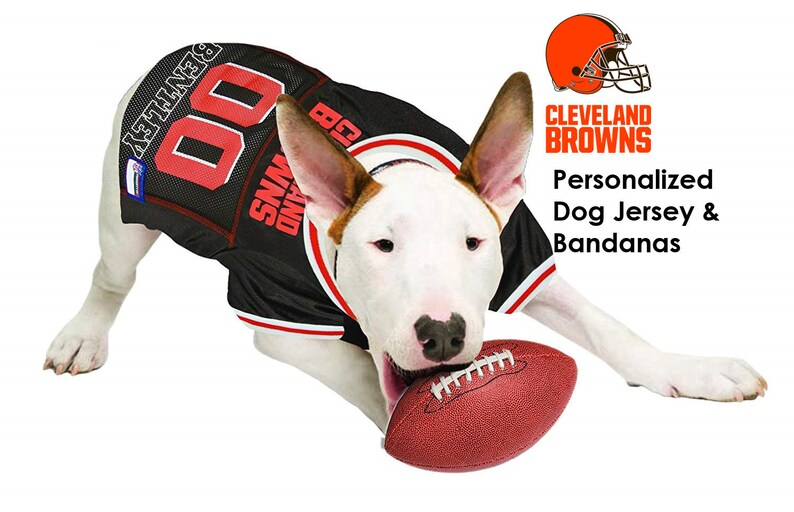 Cleveland Browns Pet Dog Jersey Personalized  8432beced