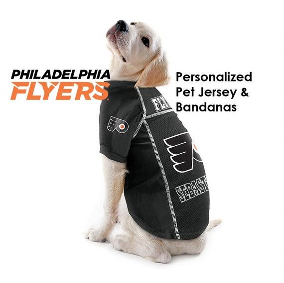 Philadelphia Flyers NHL Dog Jersey Personalized  95de94b56