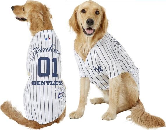 newest 02c7e 483d2 NY Yankees Pet Dog Jersey