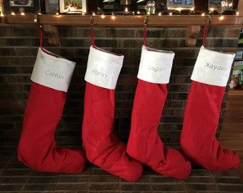 4d2513270d0 JUMBO OVER-SIZED felt Christmas Stocking-Extra Large Personalized Stocking