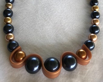 Necklace Featuring Swarovski Pearls