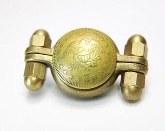 Hand Made Munsen Vintage Coin Fidget Spinner Toy