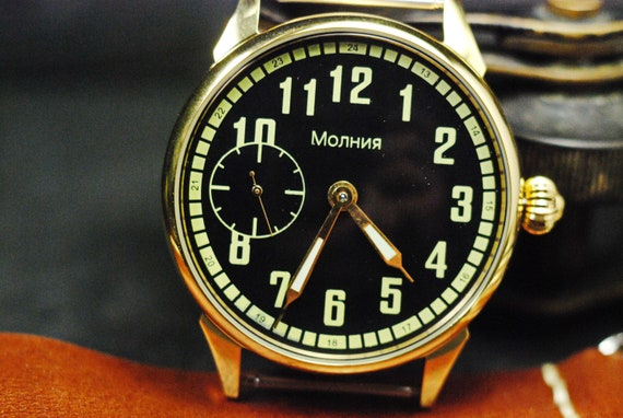 "marriage watch Soviet watch, watches ""Molnija"", vi"
