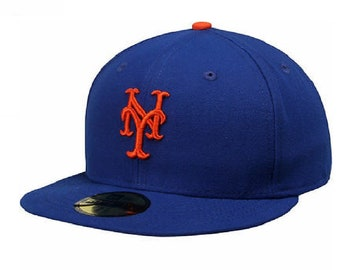 reputable site b0d7f c40ba New York Mets New Era MLB Authentic Collection 59FIFTY Cap. forgica. 5 out  of ...