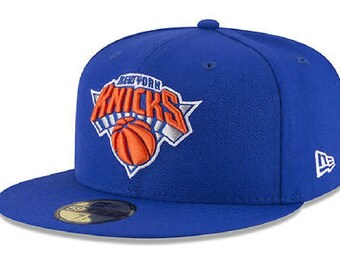 reputable site 6603e 21ed5 New York Knicks New Era NBA Solid Team 59FIFTY Cap