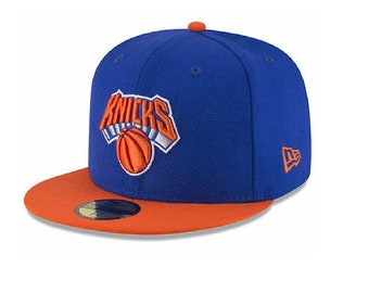 huge selection of a0e26 867a9 New York Knicks New Era NBA 2 Tone Team 59FIFTY Cap