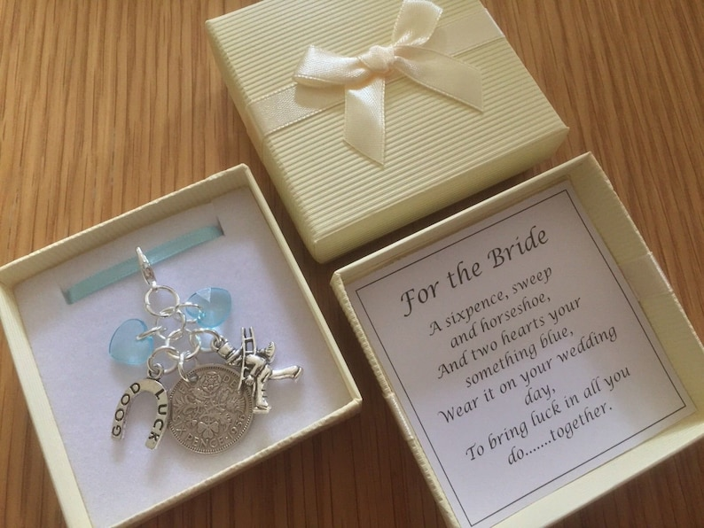 PERSONALISED LUCKY FIRST SIXPENCE 1st BIRTHDAY BOY GOOD LUCK GIFT CHARM ELEPHANT