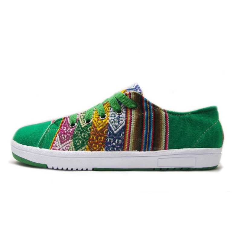 94fdb9ab61e22 Tennis Sneakers Shoes Peruvian Style Green - Converse, Vans