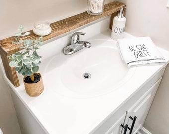 Over The Sink Shelf Etsy