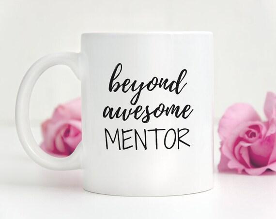 Mentor Gift Mug For Tutor