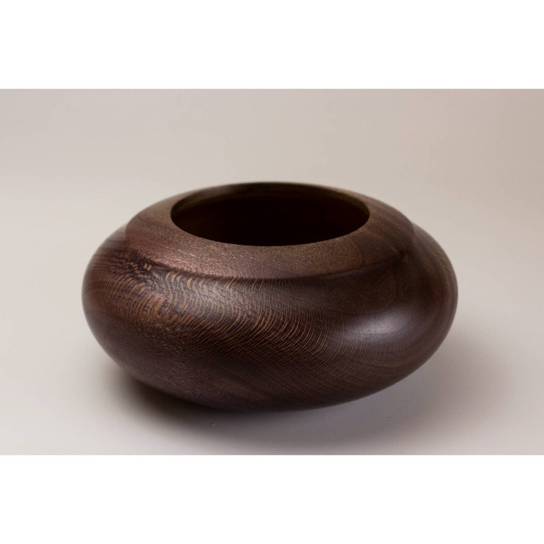 Vase handturned sycamore wood for kitchen living room interior design ideas vessel box basket cookies candy little things storage