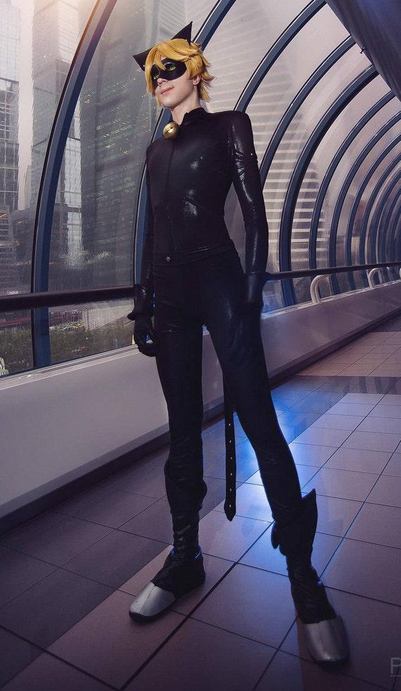 Cosplay Costume Cat Noir Ladybug Etsy