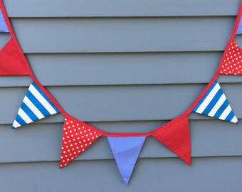 Bunting / Kids Room / Playroom / Party Banner / Party Decorations / Flags / Birthday / Birthday Party / Birthday Boy
