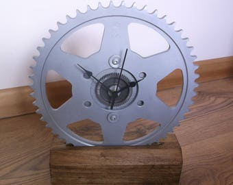 Motorcycle Sprocket Clock Suzuki Katana Steampunk Industrial Clock