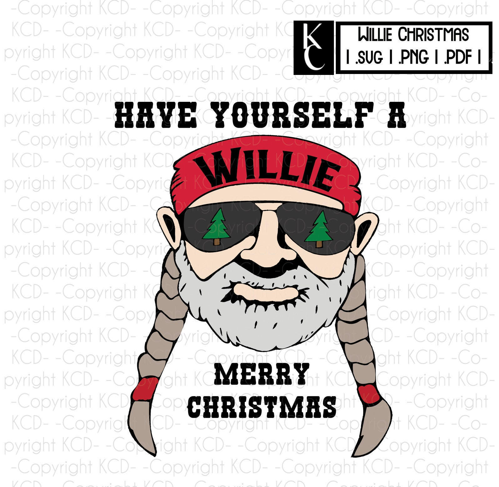 Willie Merry Christmas Png Svg Pdf Willie Nelson Clipart