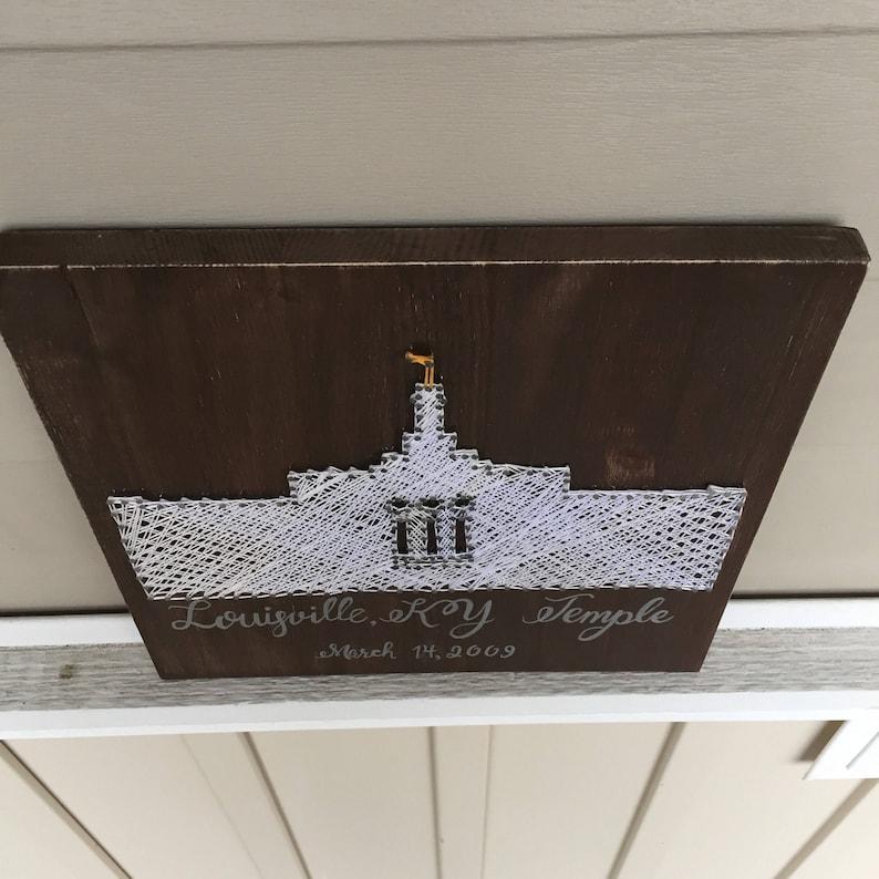 Home Decor Kentucky Temple String Art Anniversary Gift Wedding Gift Louisville