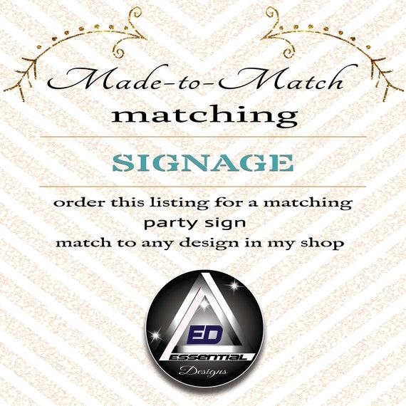 match my sign