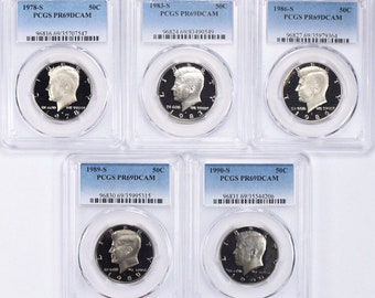 1978 S KENNEDY CLAD PROOF69 ULTRA CAMEO