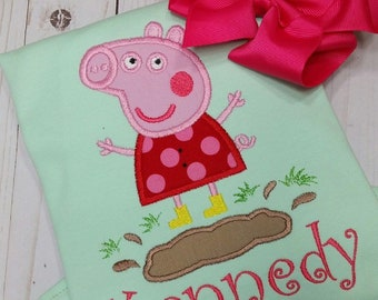 d2ed6177fcd Peppa Pig shirt!!