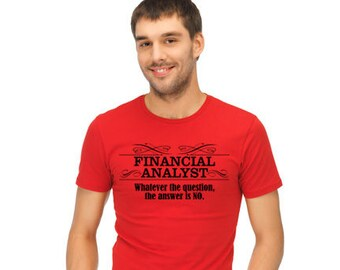 Financial Analyst's Tees
