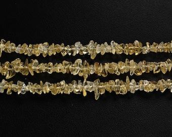 Yellow Citrine Chips - Natural Gemstone Chips