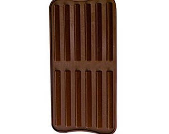 Silicone mould for Chocolates 22 x 10 cm 12 Bars printing QDC102