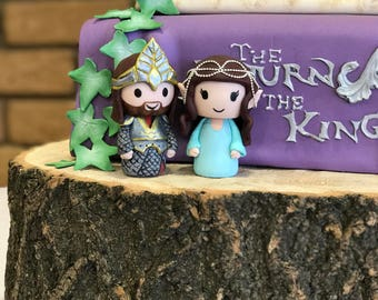 Lord of the Rings wedding cake topper