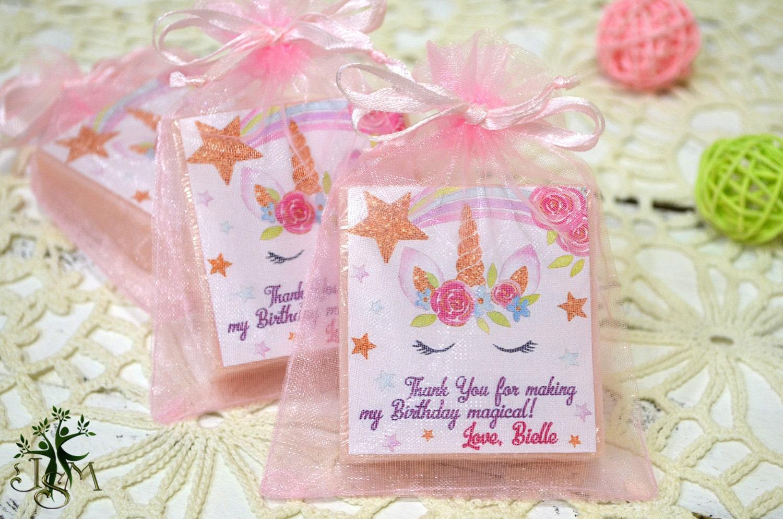 12 Unicorn soap baby soap unicorn birthday personalized   Etsy