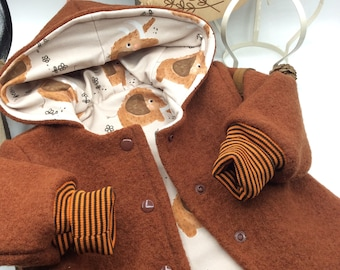 Baby Walk Jacket Winter Jacket Baby Gifts Birth Cuddly Poop Ready for Shipment Walk