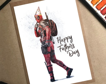 7770136b Deadpool Fathers Day Card, Fathers Day Card Marvel, Avengers Fathers Day  Card, Fathers Day Card Funny, New Dad Fathers Day, Step Dad Card