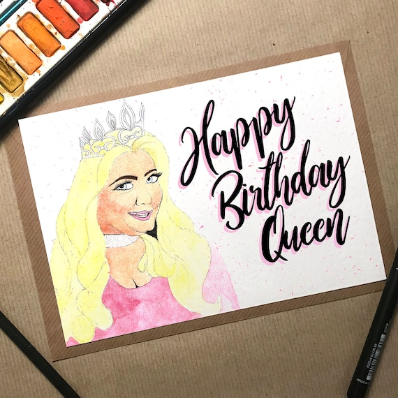 Gemma Collins Birthday Card Gemma Collins Card Towie Card
