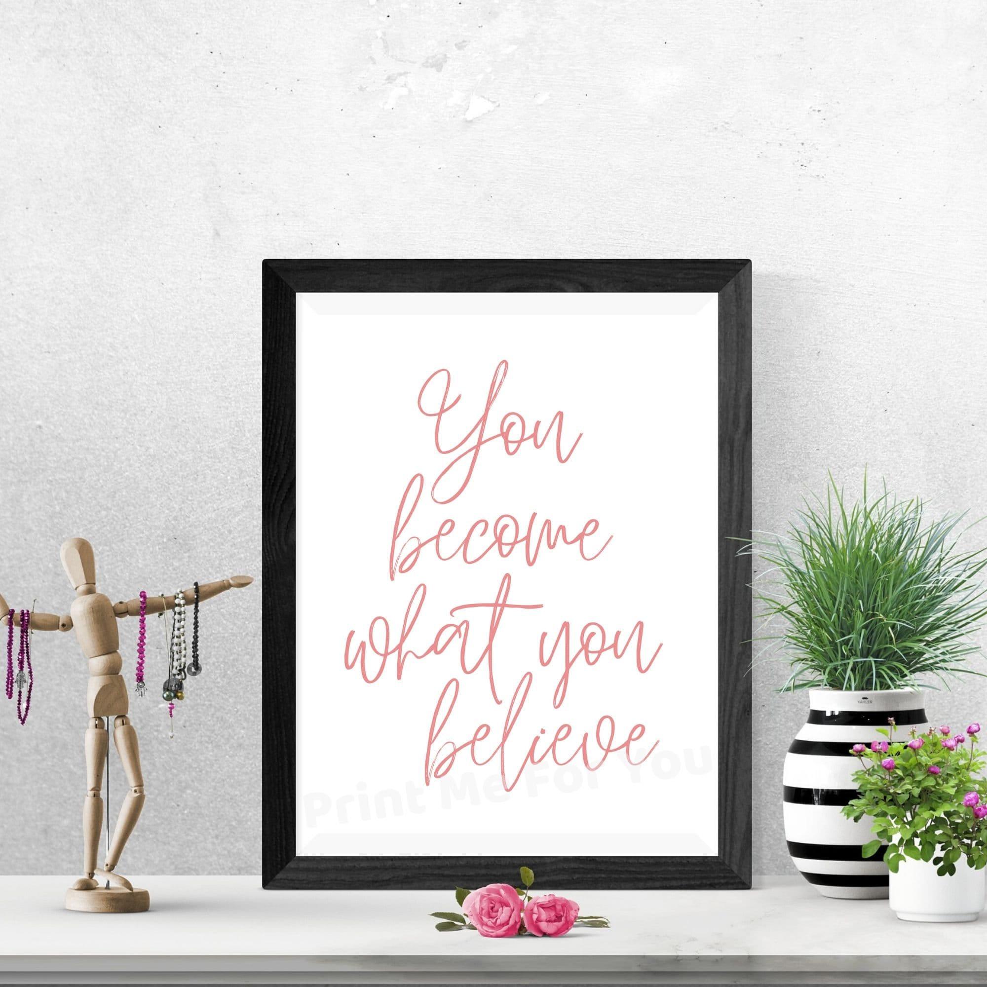 Digital Download Bedroom Art Self Affirmation Boho Wall Decor Women S International Day Love Yourself Print Self Love Printable Wall Art Digital Prints Art Collectibles Delage Com Br