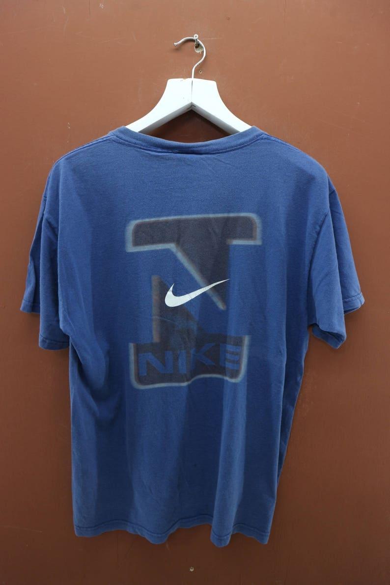 timeless design 667ba a1fa1 Vintage Nike Air Swoosh T-Shirt Big Logo Air Max Sport Street   Etsy