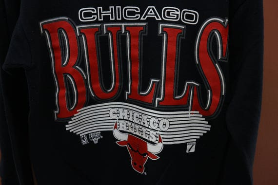 Sweatshirt NBA Vintage Size 90's Basketball Bulls Jordan M Sweater Sport Street Chicago Wear Wqfpcfg