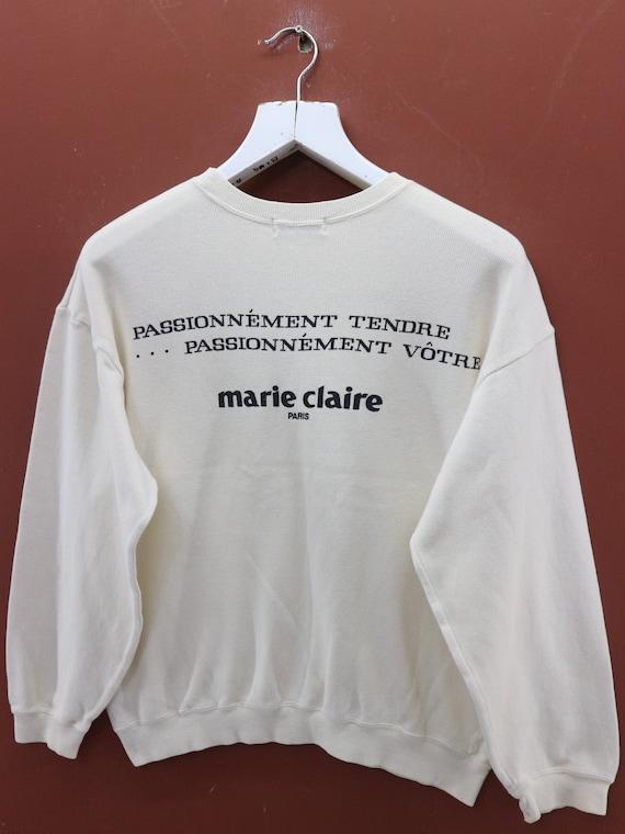 dcaa0ad0 Vintage Marie Claire Sweatshirt Designer Casual Street Wear | Etsy