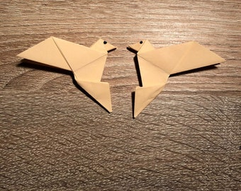 Origami Birds (10 pieces) with optional colour, paper-fold birds, paper birds, birds for parties, decorations