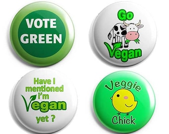 Green Eco Badges Set 1