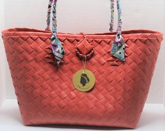 Claribelle PeachTravel-Shopping Tote