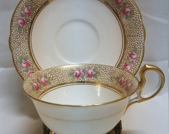 Gorgeous Antique Aynsley England Cup & Saucer Set