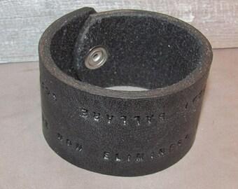 bracelet black pete townscend the who