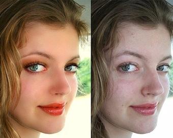 Professional photo editing service;Image enhancement; Post processing; Portrait; Customizing; Photoshop service