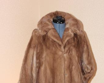 Natural Pastel Mink Coat --> Jacket!!