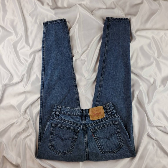 90's Vintage High Waisted Levi's 512 Tapered Ankle