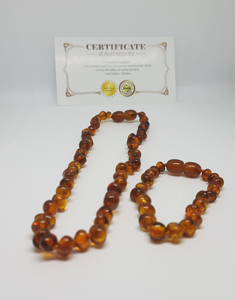 Amber Child Multi Necklace 36cm Baby